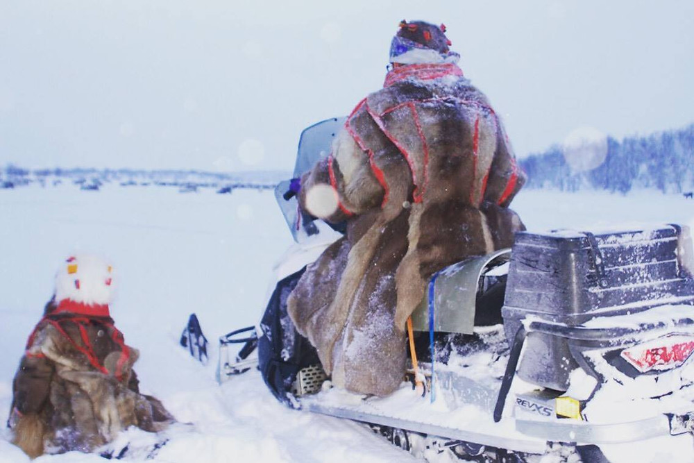 Book a stay with a Sami reindeer herder family and experience the unique Sami culture and try your skills on reindeer herding