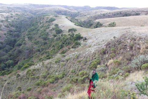 A Maasai in Ngorongoro Conservation Area