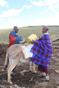 Maasai women in Ngorongoro Conservation Area