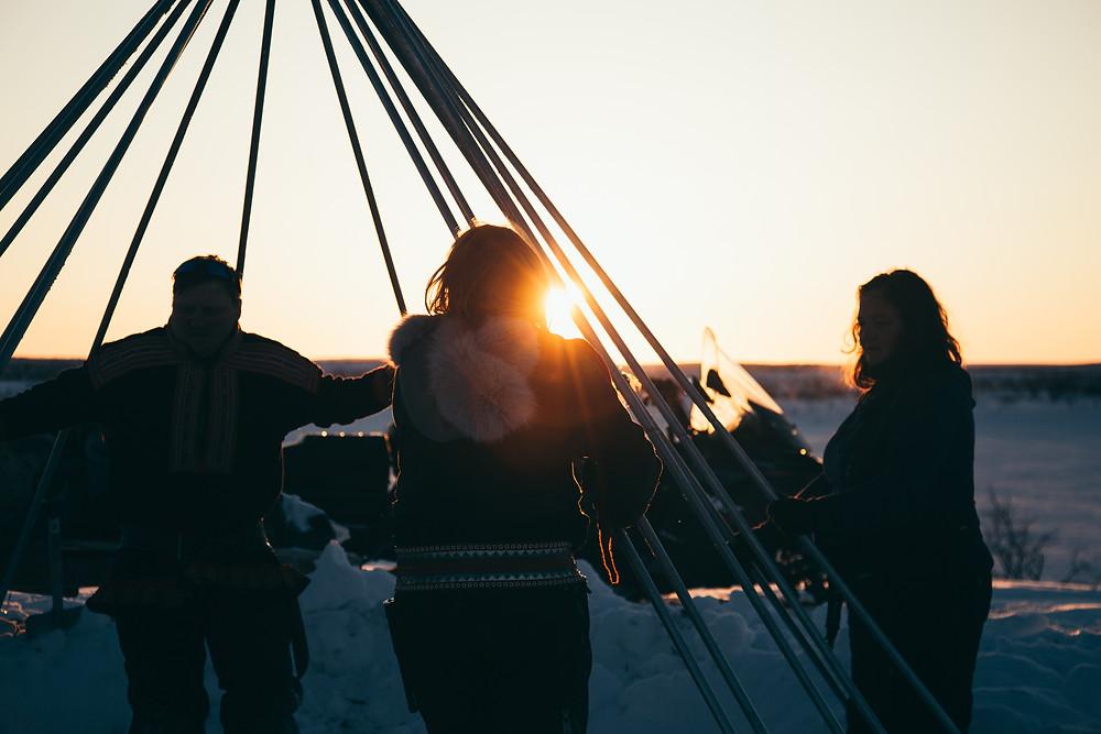Reindeer migration, Sami reindeer migration, migration experience in Norway, reindeer Norway, visit Norway, Sami Norway