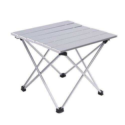 Ultra Light Mini Picnic Table - Outdoor Aluminum Folding Table