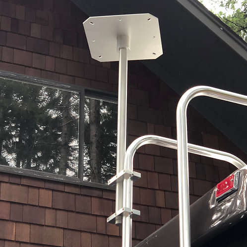 "18"" Vertical Portable Satellite Ladder Mount"
