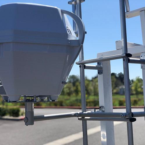 Horizontal Portable Satellite Ladder Mount