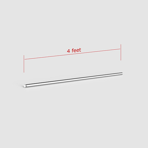 4 Foot Vertical Pole Add-On for Horizontal Mount