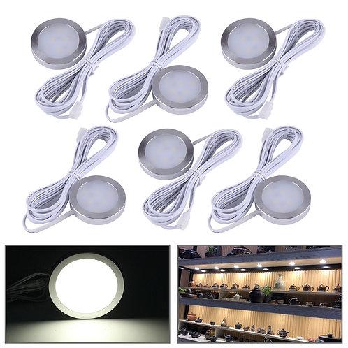 1.2W Interior White LED Spot Light - Aluminum -12V