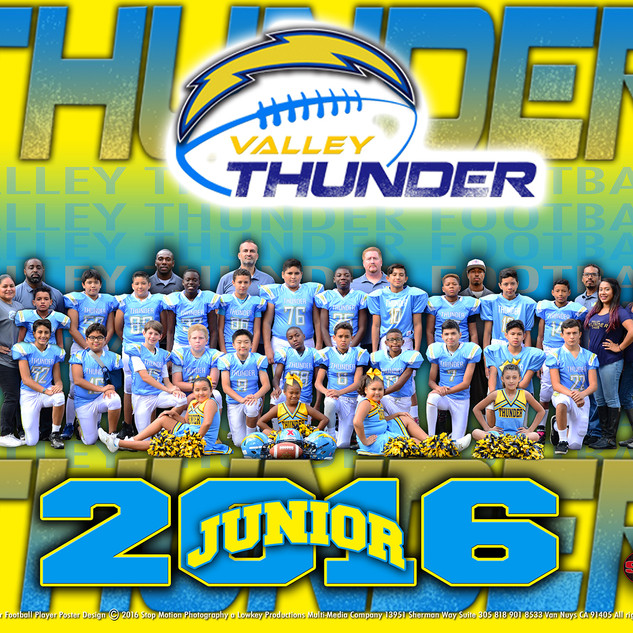 8x10 Thunder Team Picture