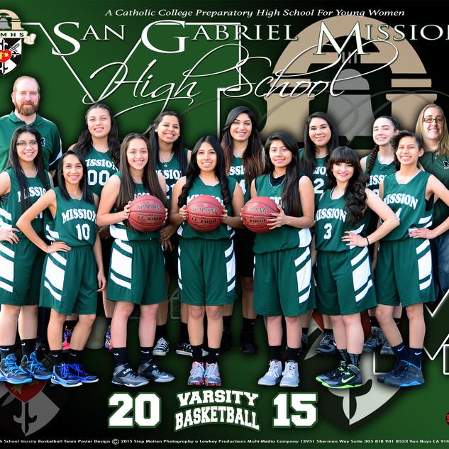 11x14 Basketball Varsity