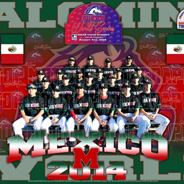 Mexico Team Poster