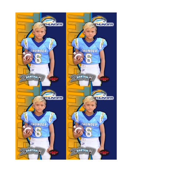 Valley Thunder Player Wallets