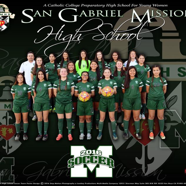San Gabriel Mission Girls Soccer