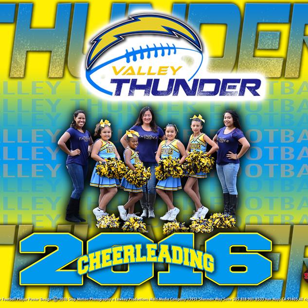 8x10 Thunder Cheer Team