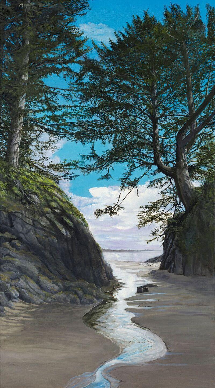 Johnman, Sandra - A Path to the Beach