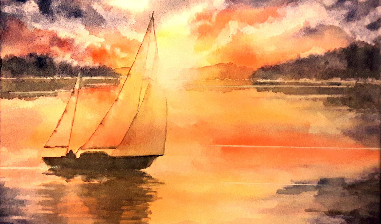 Taron, Catherine - Sunset Sail