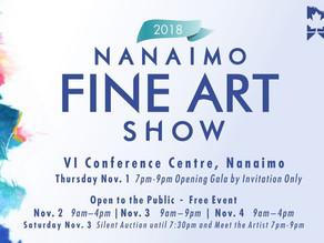 Results - 2018 Nanaimo Fine Art Show