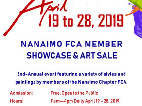 2019 Nanaimo - Chapter FCA Member Showcase and Art Sale