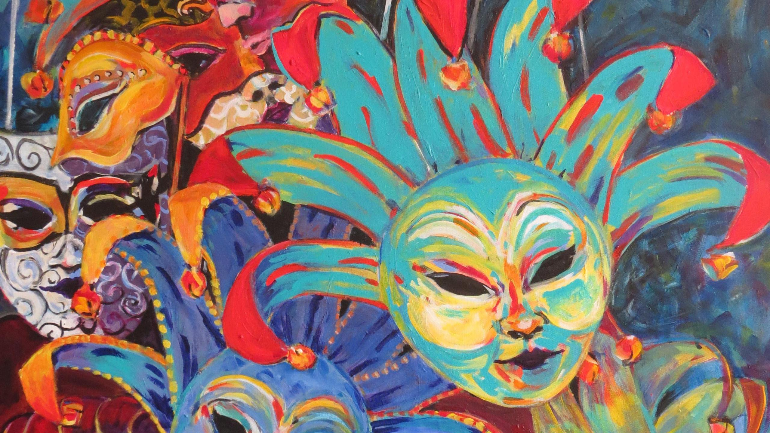 DeJong, Ingrid - Venetian Masks