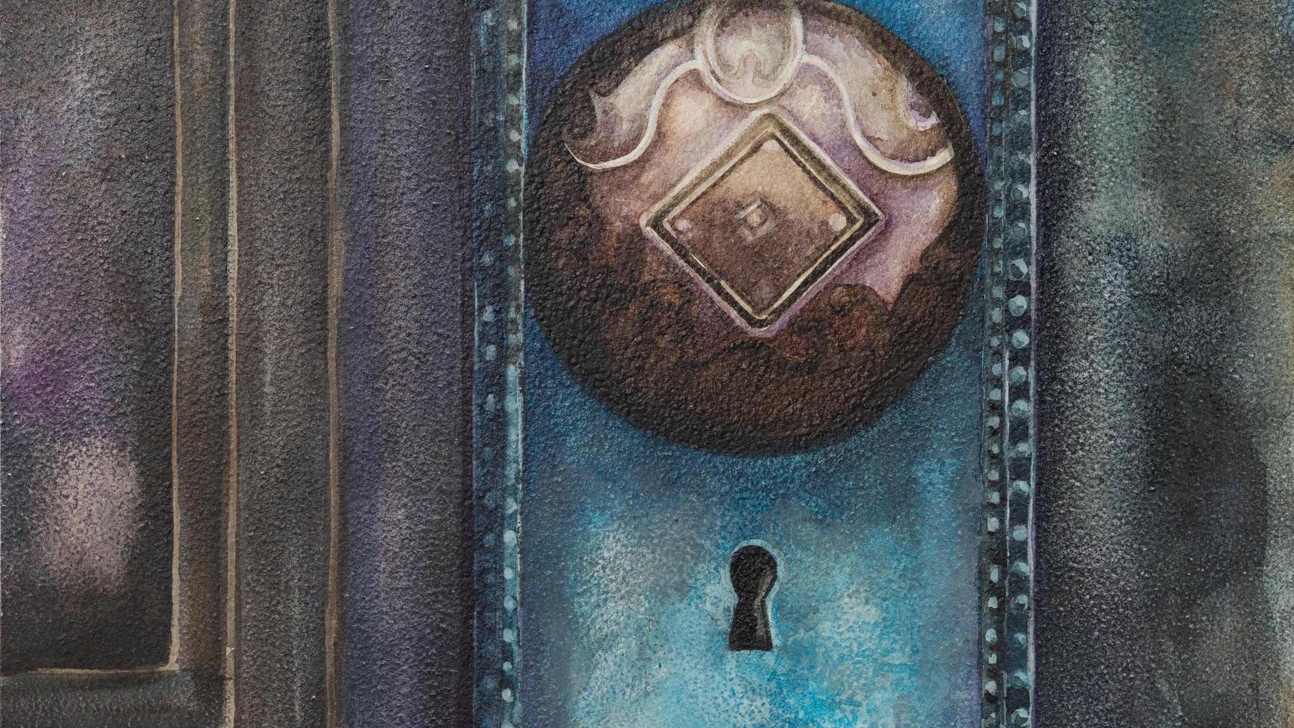 Maday, Penny - Antique Door