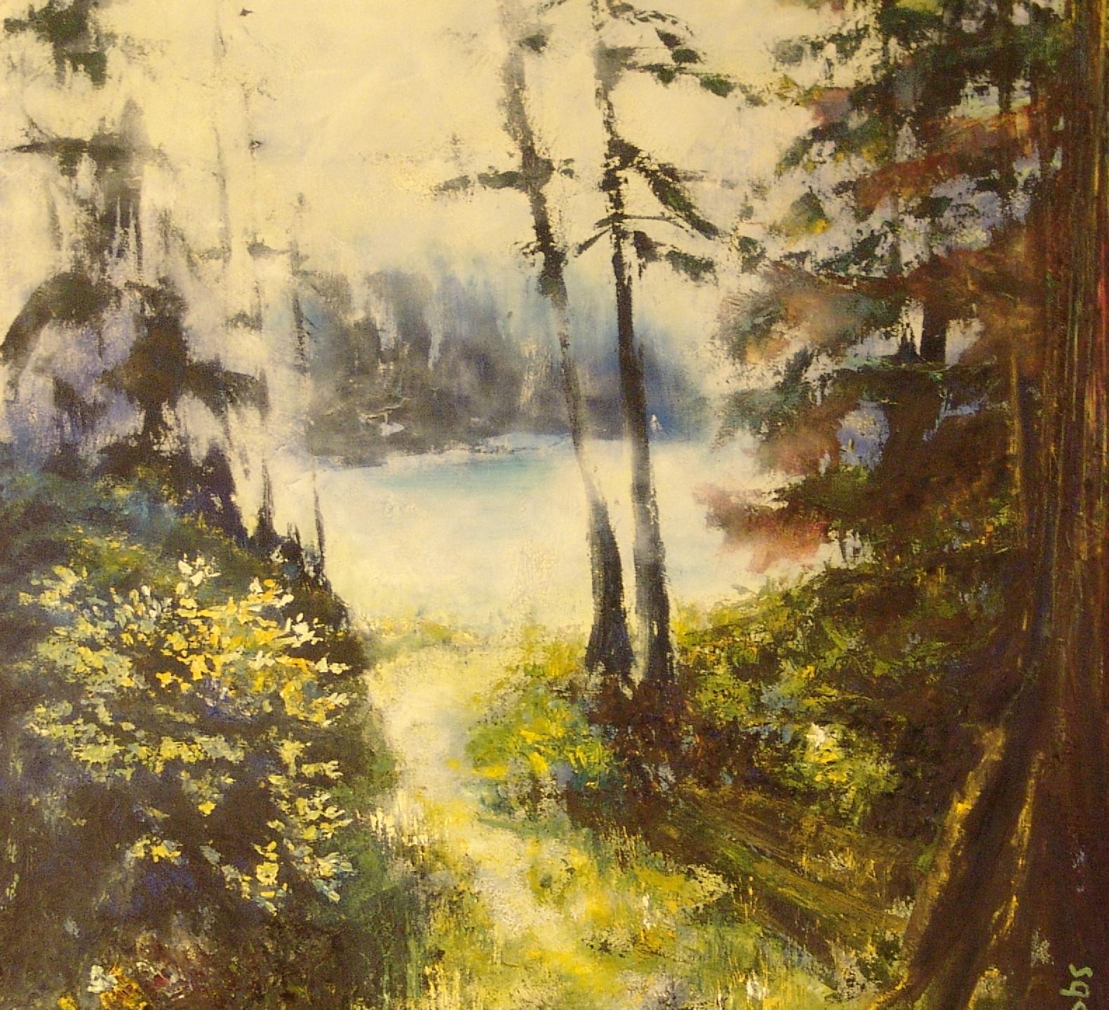 Bibbs, Susan - Winter Mist at Keel Cove, Neck Point Park on Vancouver Island