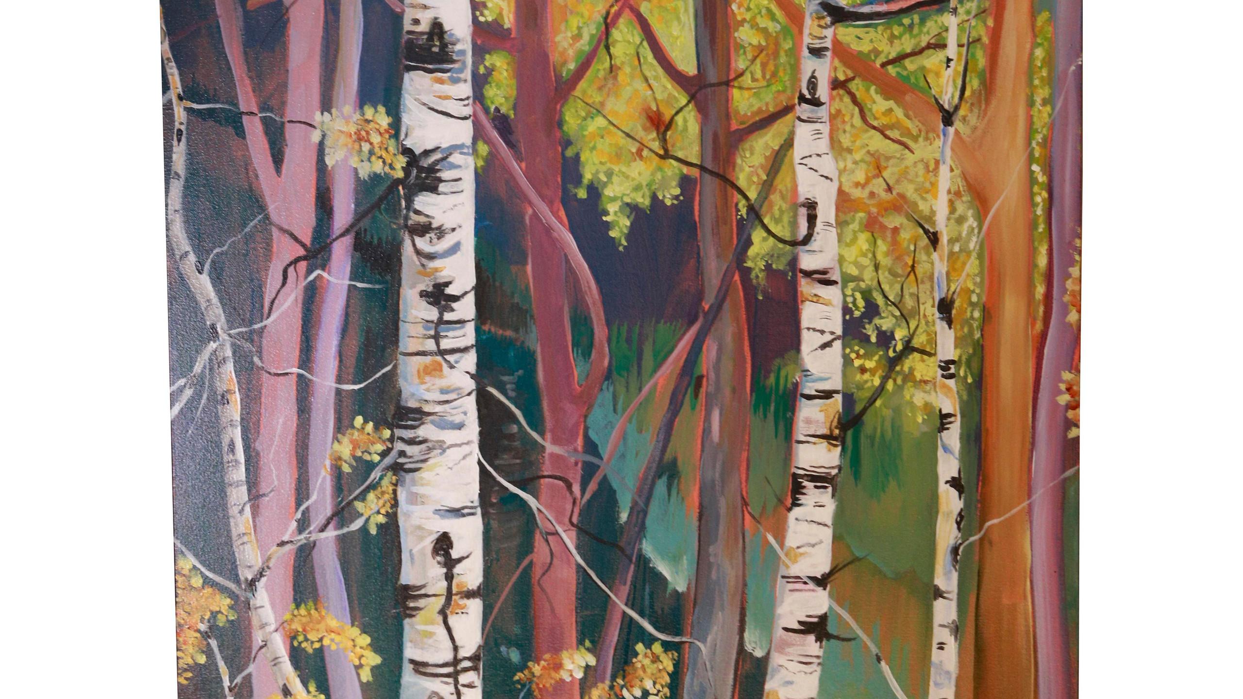 Hutton, Tom - Winter Birch