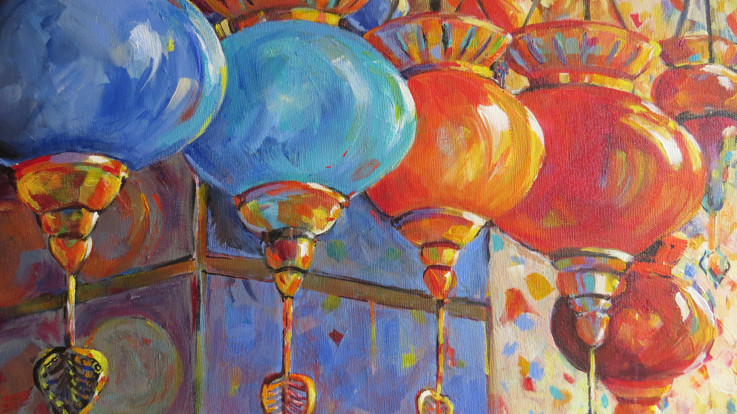 DeJong, Ingrid - The Turkish Lamp and Plate Show