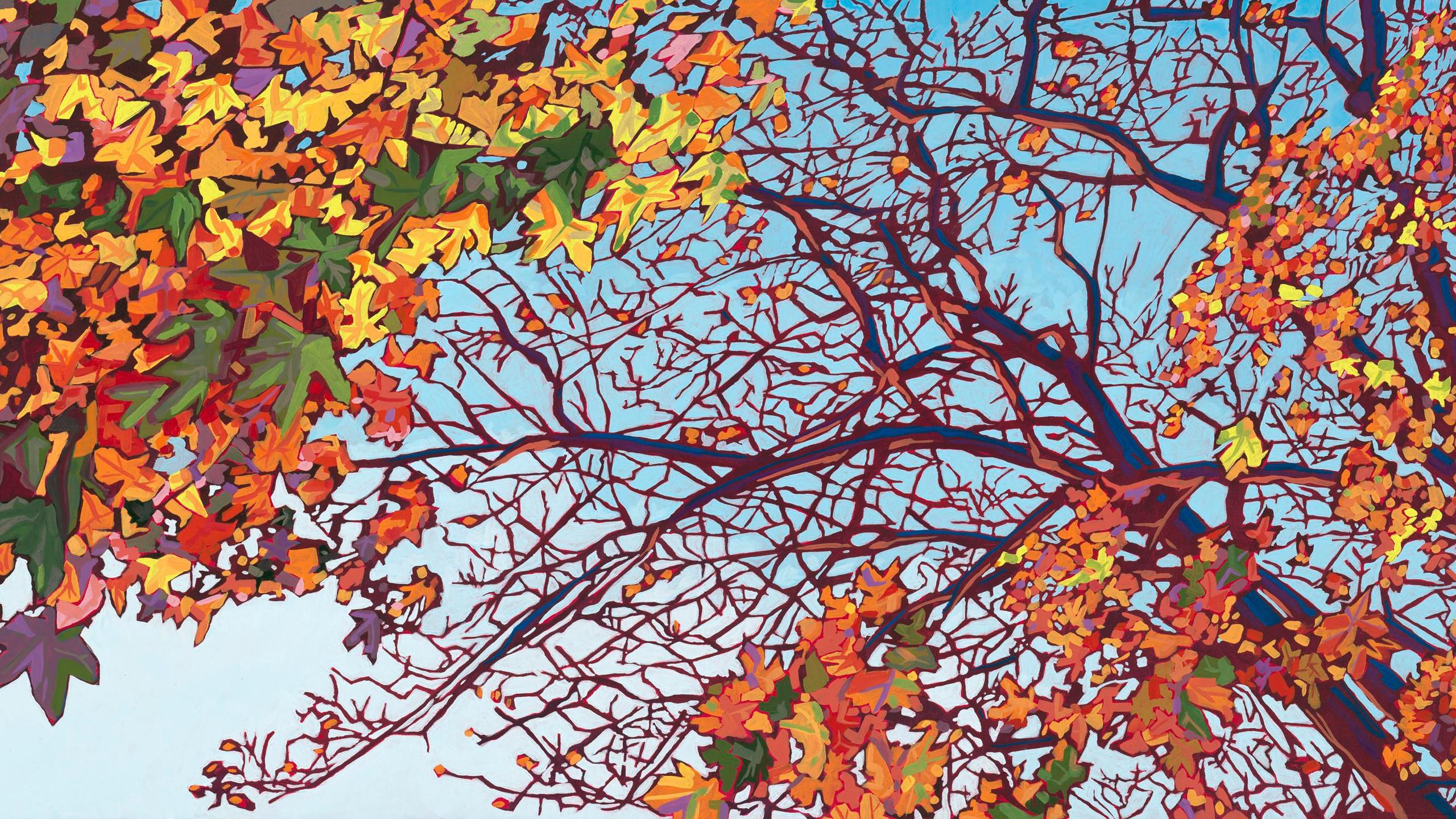 Lathrop, Mike - Fall Sun on Graham Stree