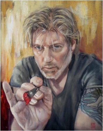 Dene Croft self portrait