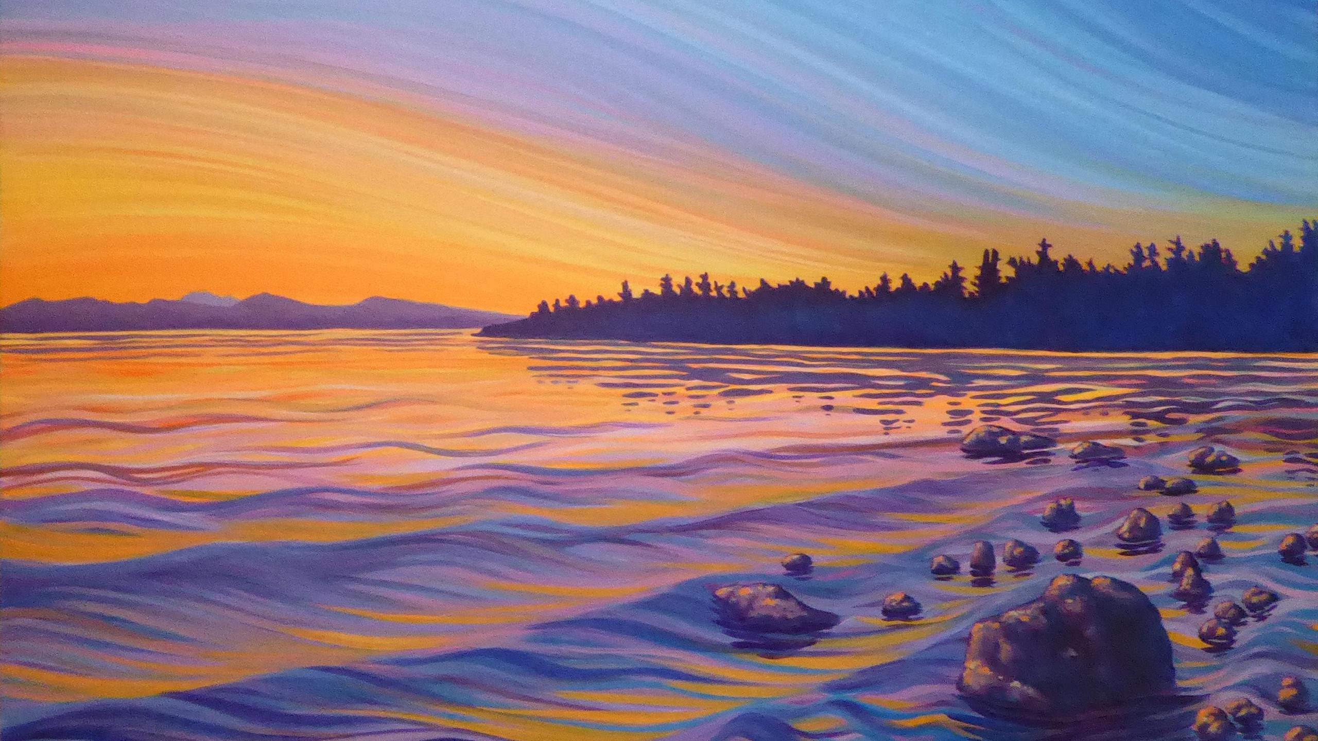 Lathrop, Mike - Sunrise on the Rocky Sho