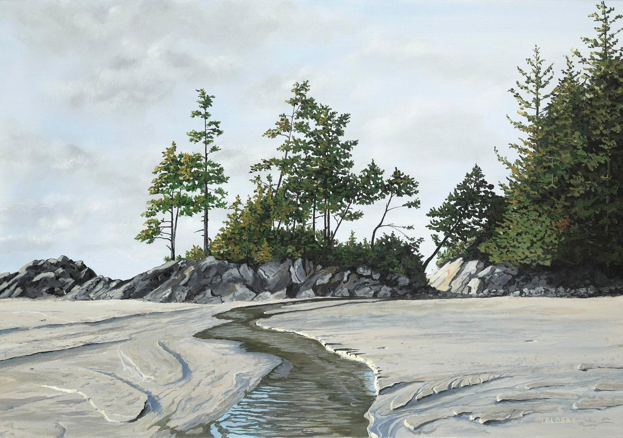 Telosky, Dan - Tonquin Beach Sand and Creek