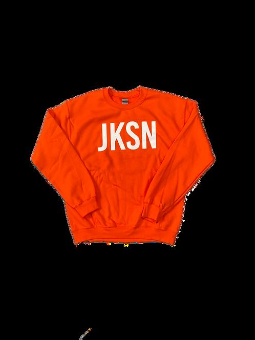 Orange JKSN Sweater