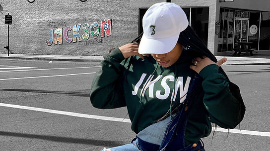 Green JKSN Hoody, SevenThirtyOne Dad Hat