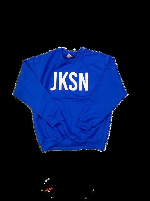 Blue JKSN Sweater