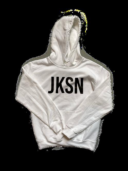 White JKSN Hoodie