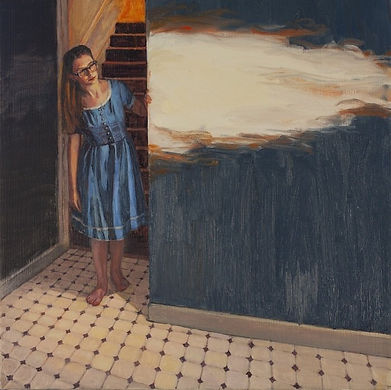 Christina Sealey -Holly -Interior- 16x16