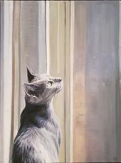 Heather Horton -Sasha oil-on-canvas 16x1
