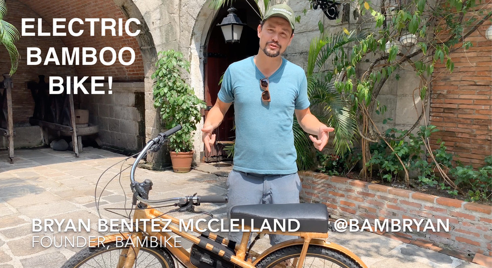 Electric Bamboo Bike! @bambryan