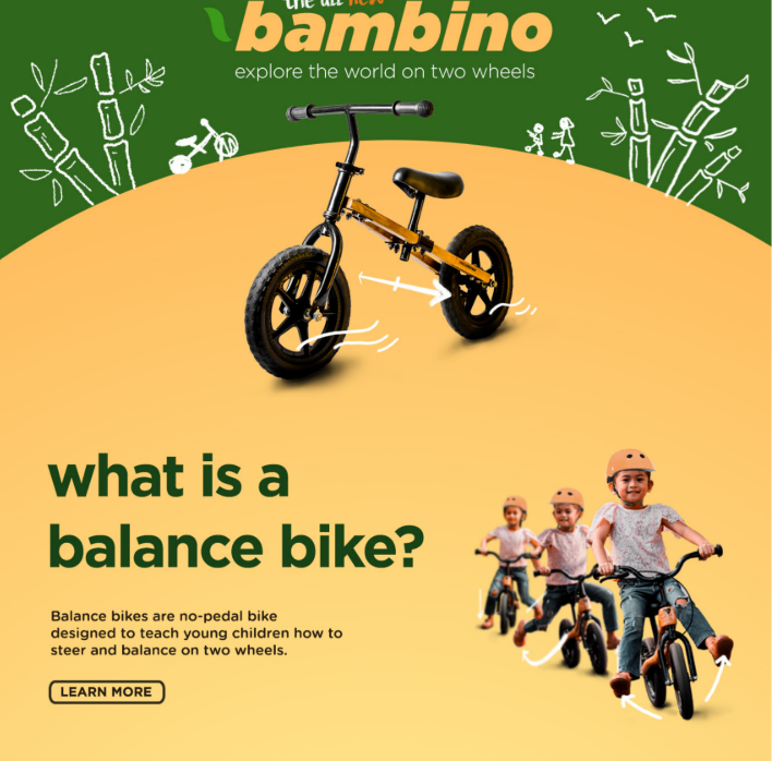 What is Bamboo balance bike