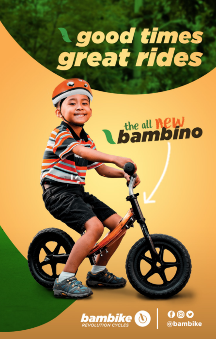 Great times bambino bamboo balance bike