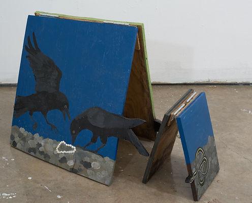 crows sandwich board cropped Emily OLear
