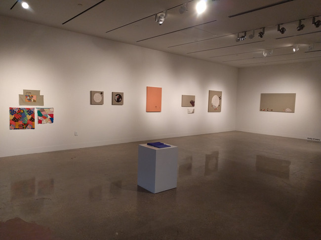 Installation view of samplers