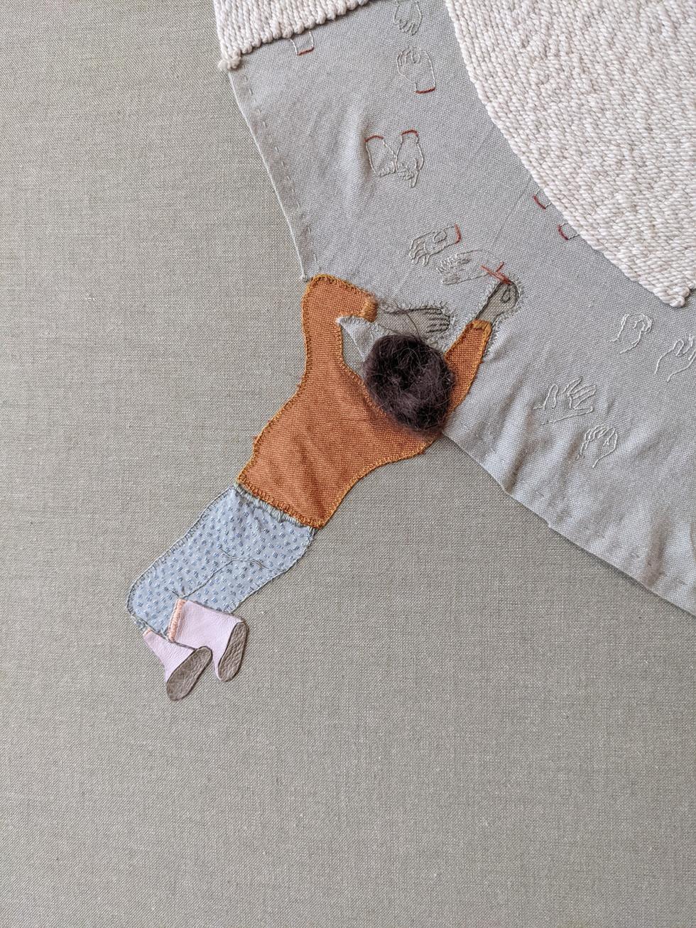Giant rug (detail)