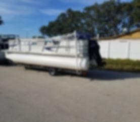 fiberglass pontoons