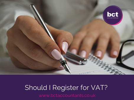 Should I Register for VAT?