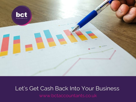 Let's Get Cash Back Into Your Business