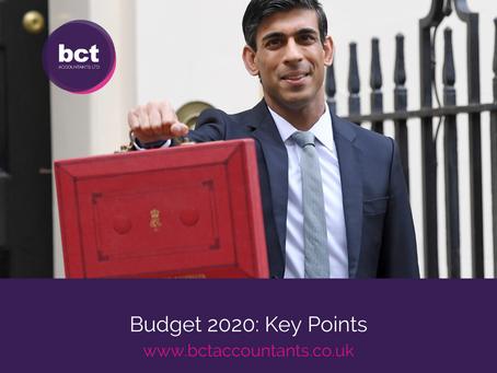 Budget 2020: Key Points