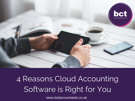 4 Reasons Cloud Accounting Software is Right for You