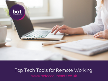 Top Tech Tools for Remote Working
