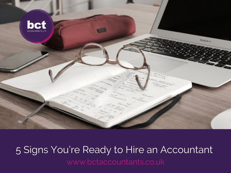 5 Signs You're Ready to Hire an Accountant