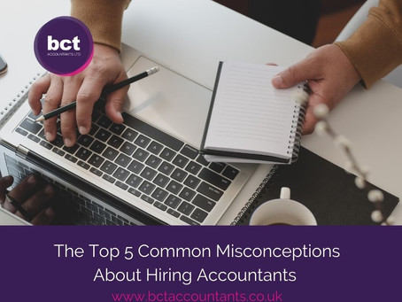 The Top 5 Common Misconceptions About Hiring Accountants