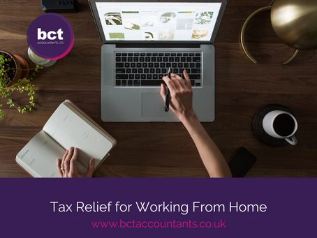 Tax Relief for Working From Home