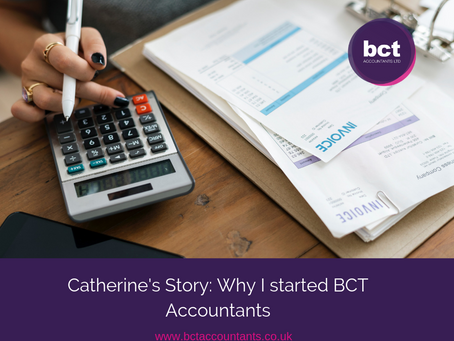 Catherine's Story: Why I started BCT Accountants